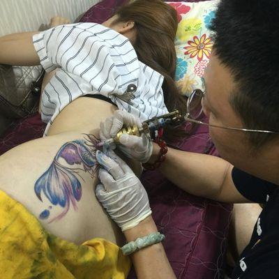 美人鱼纹身款式图