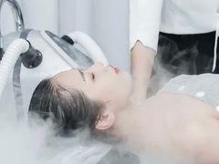 屿上碳酸泉头皮护理的图片