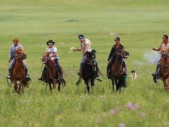 额尔古纳黑山头绿野马帮骑马场