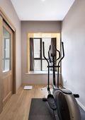 130平米三null风格健身室设计图