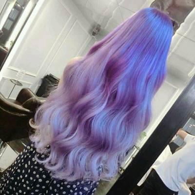 紫与蓝作品图