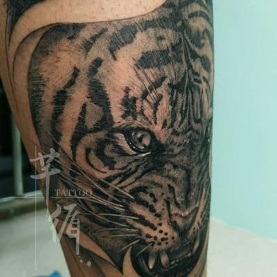 老虎01纹身款式图