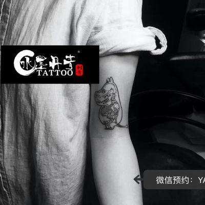 海马纹身款式图