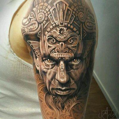 写实纹身款式图