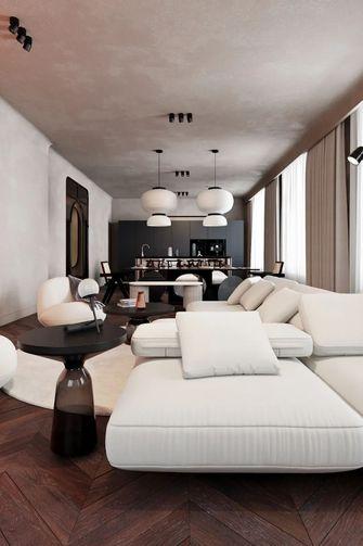 110平米公寓null风格客厅装修案例
