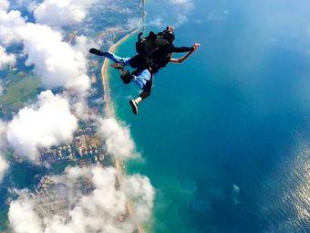 三亚海景跳伞