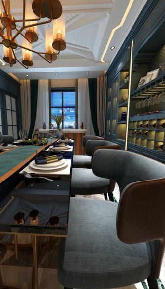 140平米三null风格餐厅装修案例