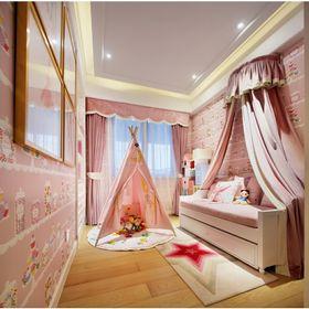 110平米四null风格儿童房设计图