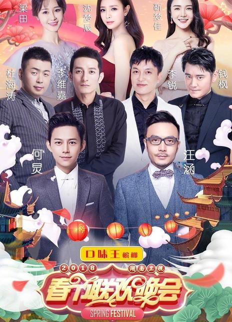 2018湖南卫视春节联欢晚会海报封面