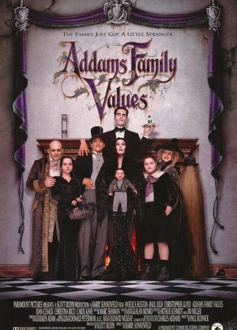 1993美国8.7分奇幻喜剧《亚当斯一家的价值观》