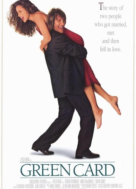 绿卡 1990美国爱情喜剧片 BD1080P 高清下载