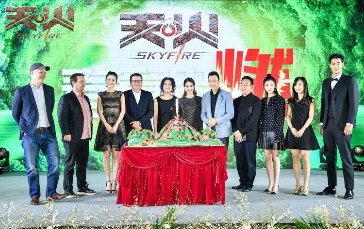 中国出品携手国际制作   《天火》首次挑战火山题材视效灾难大片
