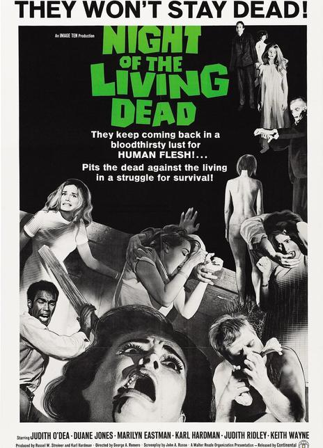 1968經典恐怖懸疑《活死人之夜》BD720P.高清中英雙字
