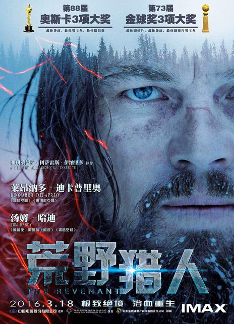 荒野猎人海报封面