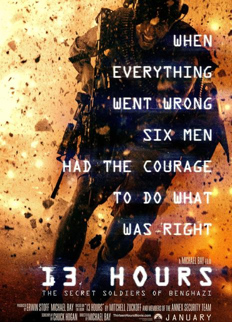 2016年美国7.5分动作战争片《危机13小时》BD中英双字