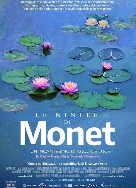 2018 意大利《莫奈:睡蓮的水光魔法》法國印象派繪畫始祖莫奈