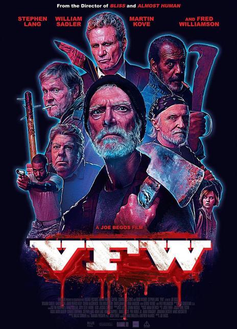 2019年 老兵 V.F.W.[老派B級片的質感,莫明的酸爽]
