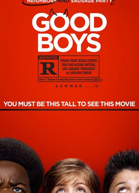 2019 美国《好小子们》影片围绕着四个12岁叛逆男孩展开