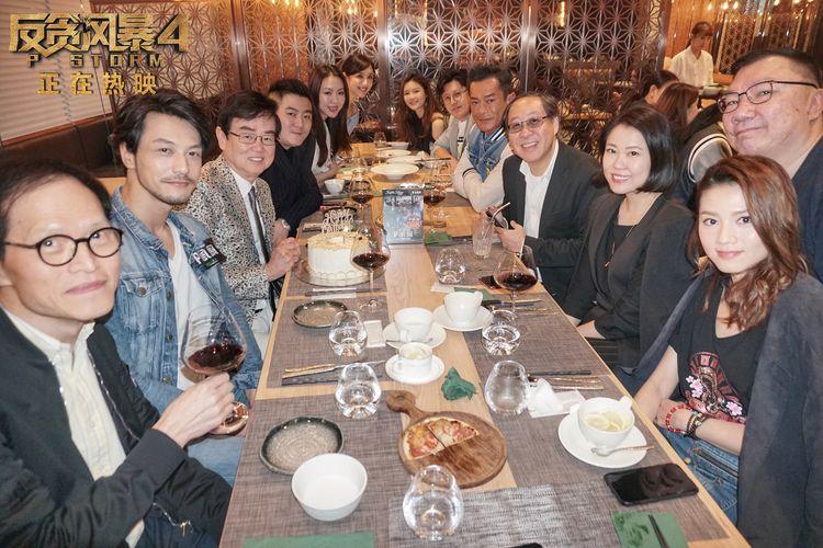 《反贪风暴4》破6亿蝉联周票房冠军,古天乐现身香港庆功活动  第10张