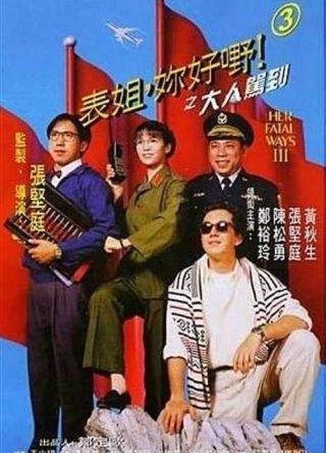 1992经典高分喜剧片《表姐,你好嘢!3之大人驾到》BD1080P.国粤双语中字