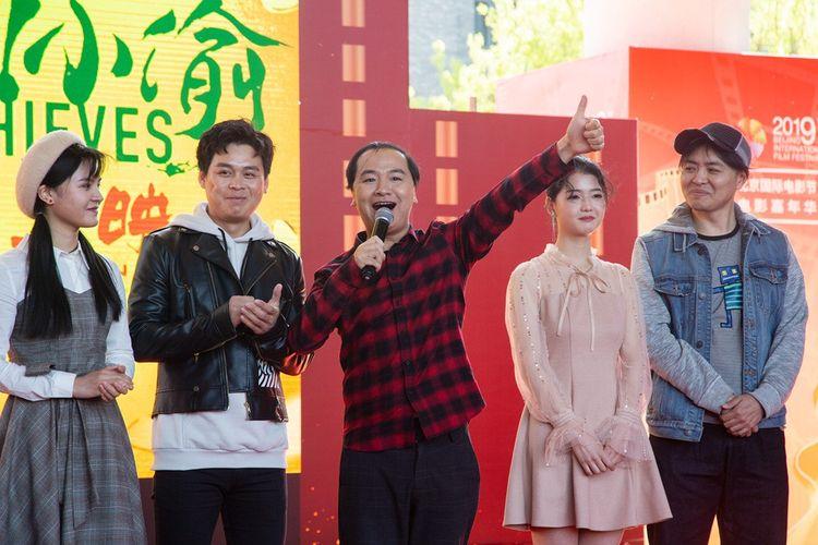 《站住!小偷》剧组亮相北影节,郑云携主创歌舞首秀《抓小偷》  第5张