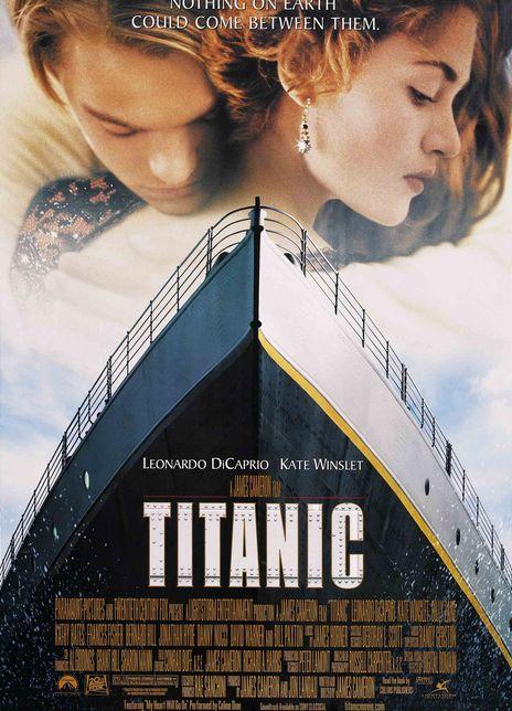 泰坦尼克号海报封面