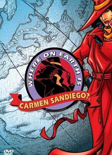 1994美国冒险动漫《神偷卡门1-4季》全集 HD720P 高清下载