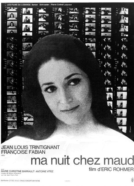 慕德家一夜 1969埃里克·侯麦高分剧情 BD1080p.高清迅雷下载