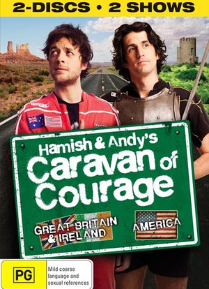 Hamish & Andy's Caravan of Courage海报封面图