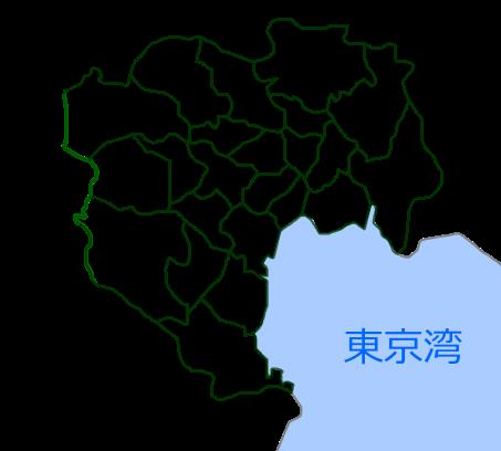 东京区域地图