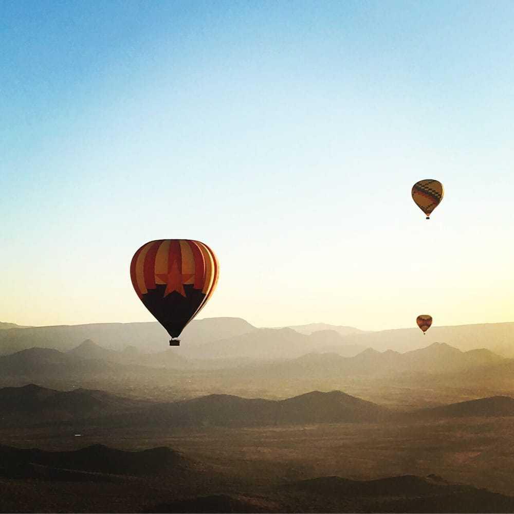 Rainbow Ryders Hot Air Balloon Ride