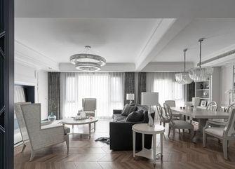 120平米三美式风格客厅图片
