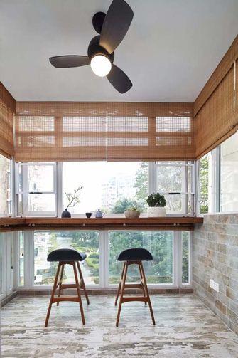 100平米三室两厅日式风格阳台欣赏图