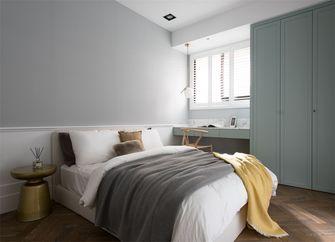 110平米三室一厅现代简约风格卧室设计图