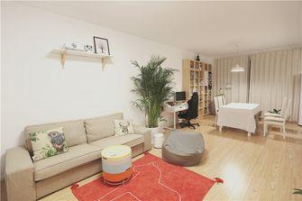 100平米三室一厅现代简约风格客厅沙发欣赏图