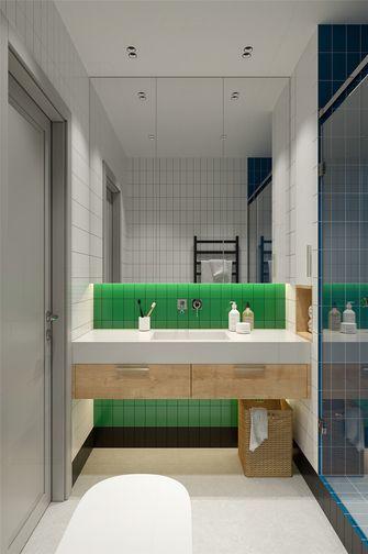 50平米一室一厅现代简约风格卫生间设计图