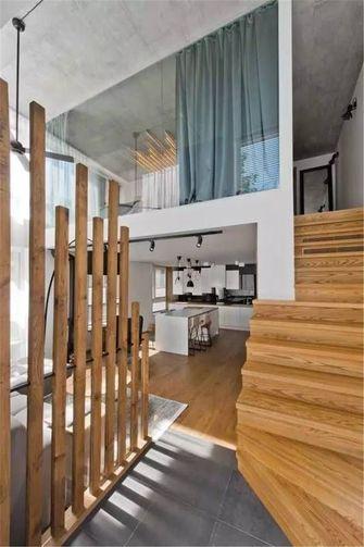 5-10万70平米一室一厅北欧风格楼梯图