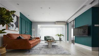 70平米新古典风格客厅设计图