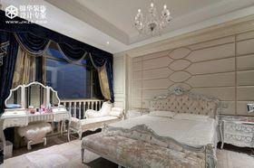 富裕型140平米四室兩廳歐式風格臥室裝修圖片大全