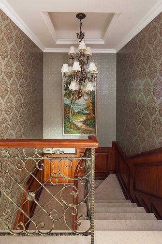 豪华型140平米别墅新古典风格楼梯设计图
