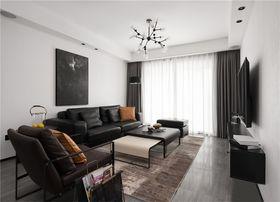 90平米三現代簡約風格客廳裝修效果圖