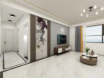 110平米三室两厅现代简约风格客厅设计图
