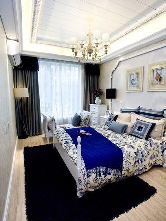 110平米三室两厅地中海风格卧室图