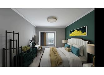 100平米三室两厅北欧风格卧室装修案例
