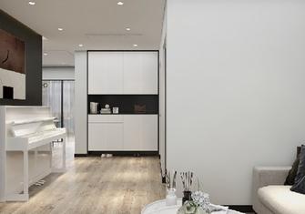 110平米三室一厅现代简约风格玄关装修效果图