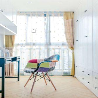 90平米三室一厅田园风格书房装修图片大全