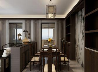 100平米三中式风格餐厅装修效果图