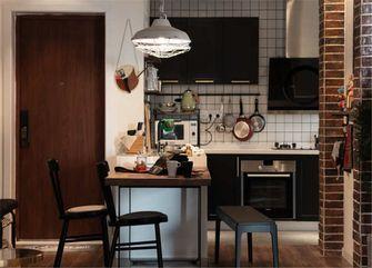 70平米一室一厅英伦风格餐厅欣赏图