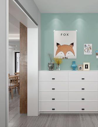 110平米三室两厅北欧风格玄关效果图