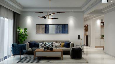 120平米四室一厅现代简约风格客厅欣赏图